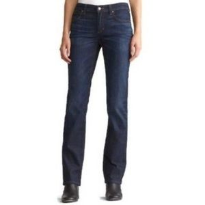 Eileen Fisher Organic Cotton Straight Leg Jean